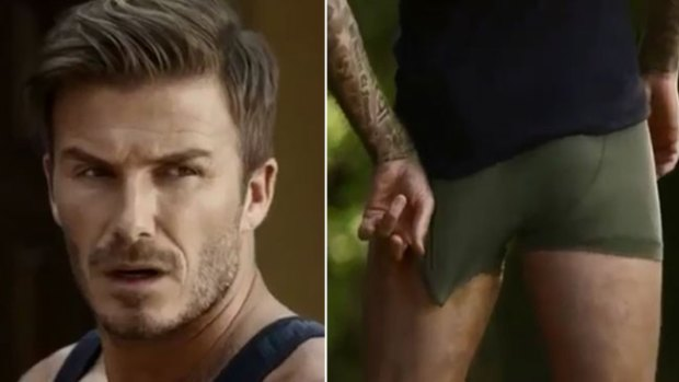 Video: David Beckham, ¡sin ropa y desesperado!