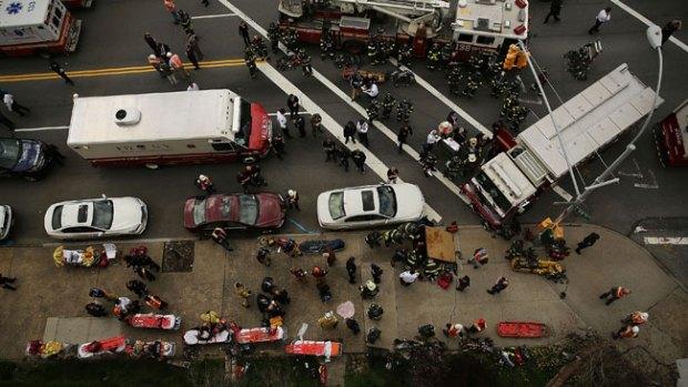 Video: Pánico tras descarrilamiento de tren