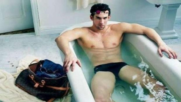 Video: Phelps ahora de modelo