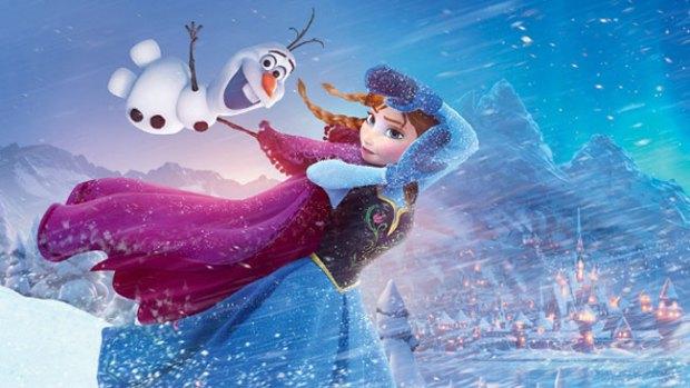 """Video: """"Frozen"""" de nuevo congela a la competencia"""