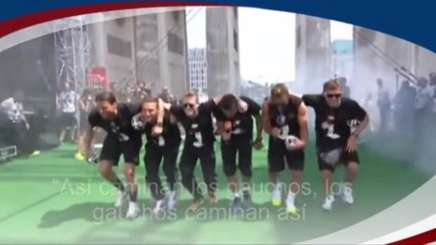 Video: Polémica mofa de alemanes a argentinos