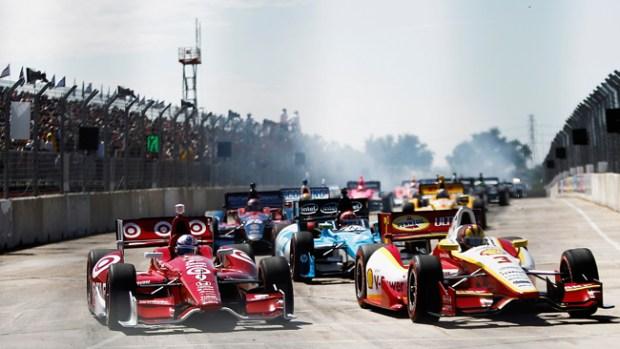 Video: Violento choque en Grand Prix