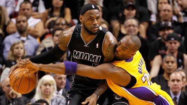 Galería: LeBron acaba con Kobe Bryant