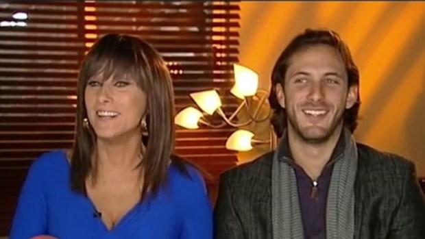 "Video: Christian Bach e hijo en ""La Impostora"""