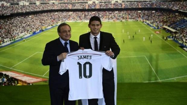 Video: James, nuevo jugador del Real Madrid