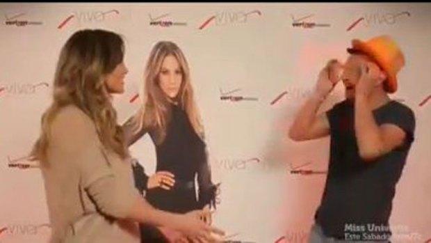 Video: Ve a Jennifer López y casi se desmaya