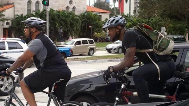 Galería: LeBron James y su súper bici