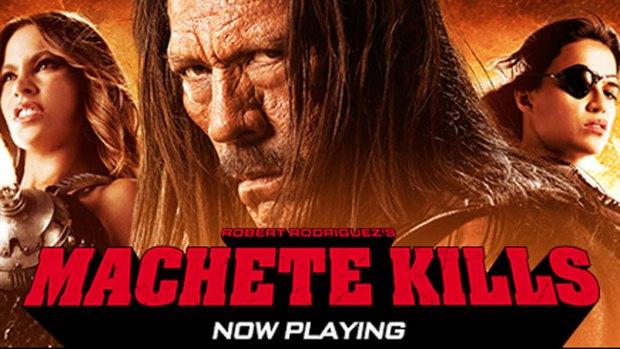 """Video: """"Machete Kills"""" explota en el cine"""