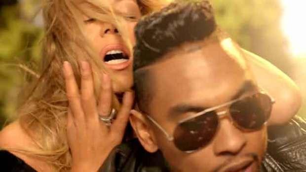 """Video: Mariah Carey, fogosa en """"#Beautiful"""""""