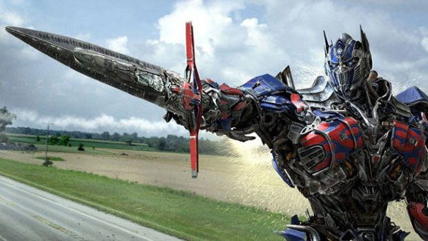"""Video: Gran estreno de """"Transformers 4"""""""