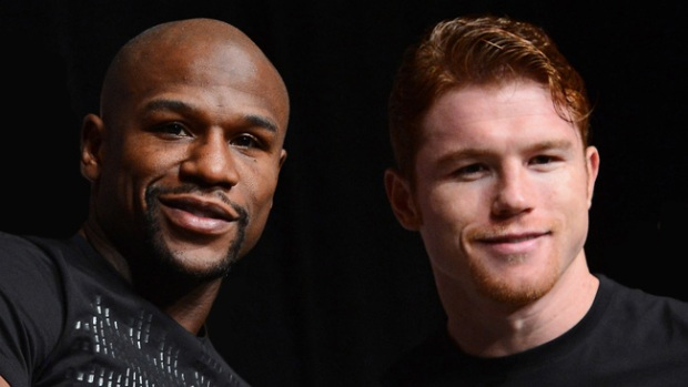 Video: Canelo vs Mayweather, ¡que pelea!