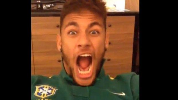 Video: Lo que hace Neymar en su tiempo libre