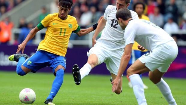 Galería: Brasil aplasta a Nueva Zelanda