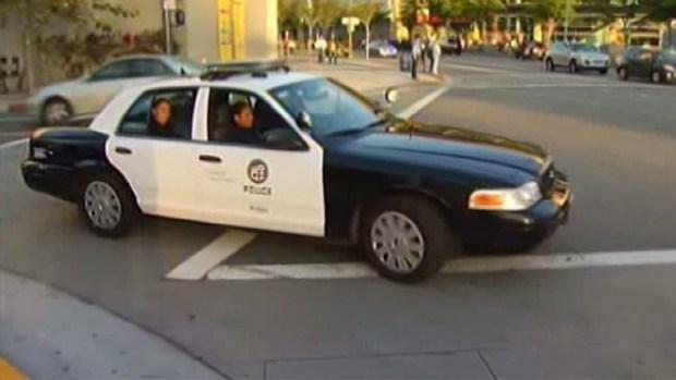 Video: Policía a la caza de peatones