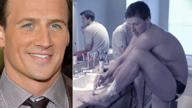 Video: Ryan Lochte se rasura… ¡todo!