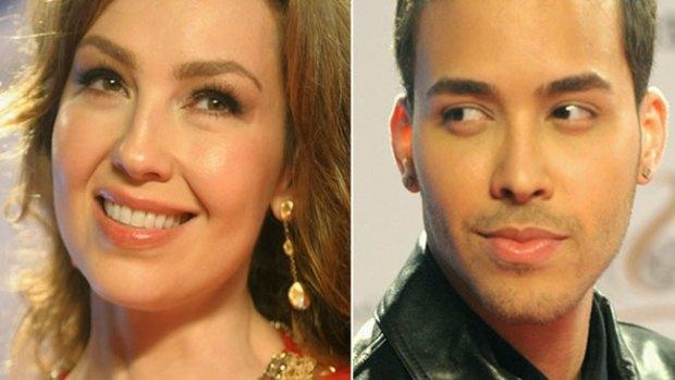 Video: Thalía y Prince Royce en dueto explosivo