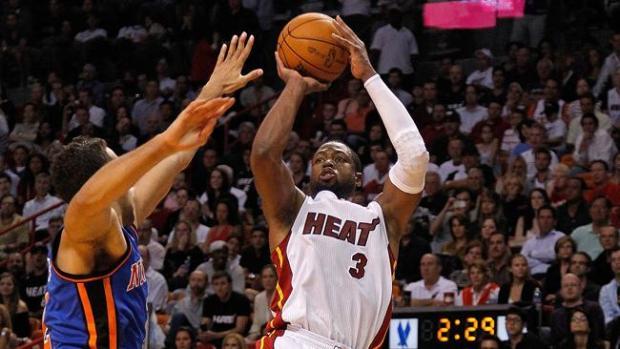 Galería: Wade regresa triunfal con los Heat