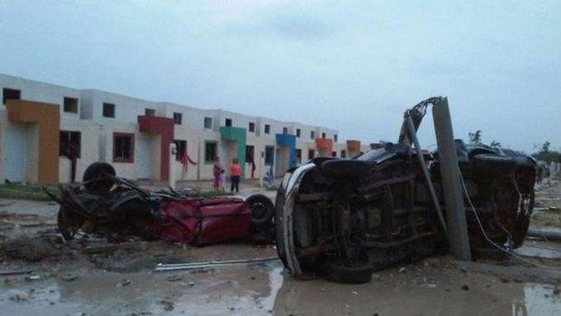 Fotos: tornado mortal en Ciudad Acuña, México