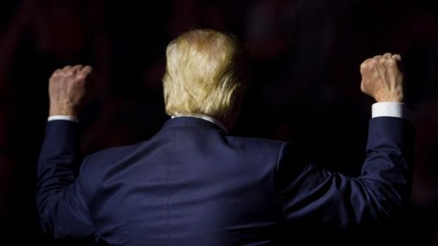 Proclaman victoria presidencial de Donald Trump