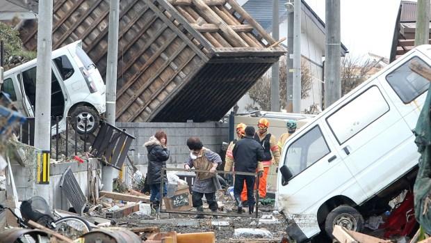 El horror del tsunami en Japón, seis años después