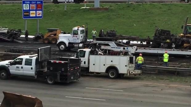 [TLMD - Denver] Continúan trabajos de limpieza en I-70