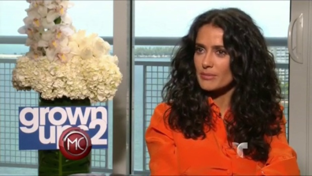 "Video: Salma Hayek: No soy ""fashionista"""