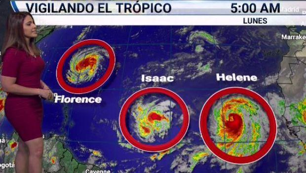 [TLMD - MIA] Vigilando el trópico este lunes: tres ciclones