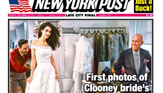 Video: Novia de Clooney, con sello hispano