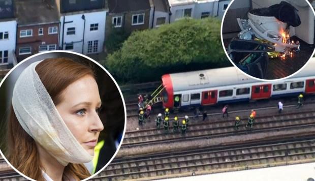 Ataque en Londres: pánico y heridos tras explosión en el metro