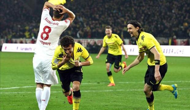 Galería: El Stuttgart de Maza consigue empate