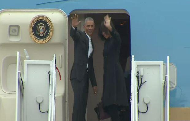Fotos: Obama llega a Cuba en medio de la represión del gobierno