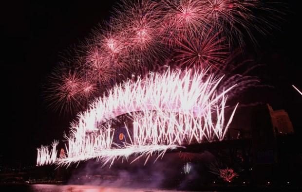 Fotos: el mundo celebra el 2014