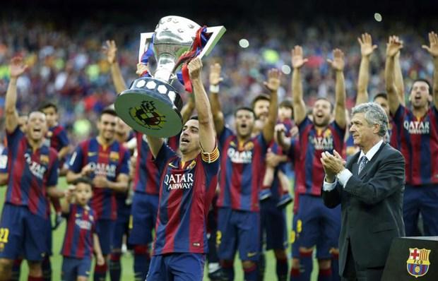 Doble celebración para el F.C. Barcelona