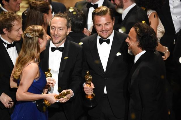 Los ganadores del Oscar 2016