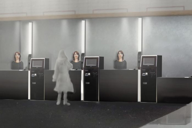 ¿Te quedarías en un hotel atendido por robots?