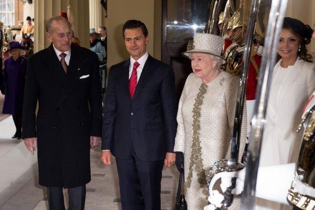 Peña Nieto y esposa, a todo dar .... en Inglaterra