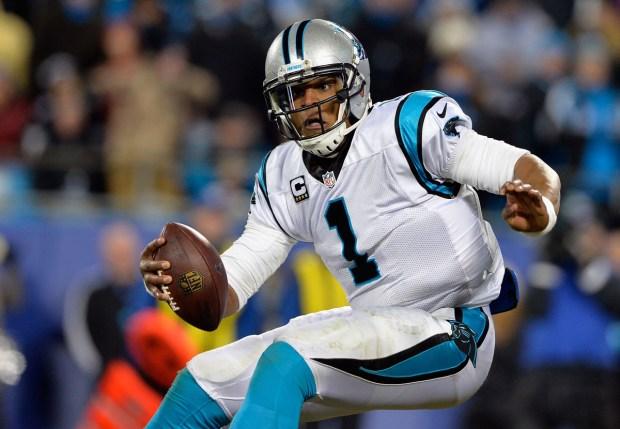 Cam Newton, el quarterback de los Carolina Panthers