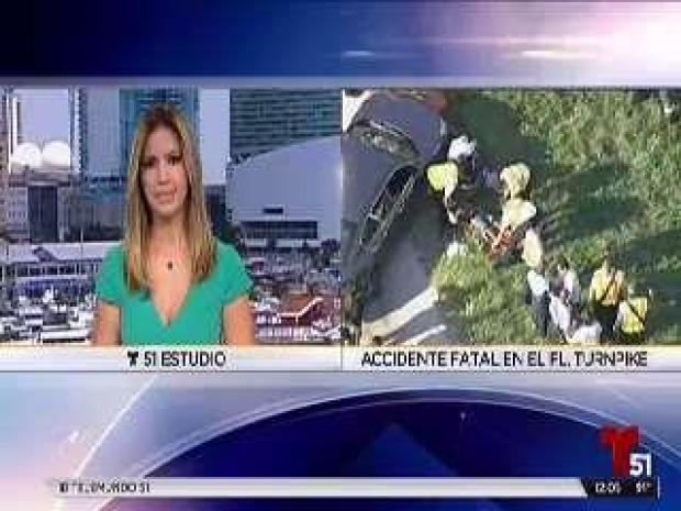 [TLMD - MIA] Accidente mortal en el Turnpike