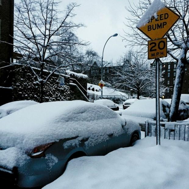 Tus fotos de la tormenta invernal en Nueva York