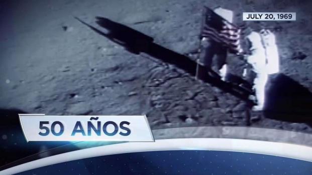 Celebran 50 años de la llegada del hombre a la Luna