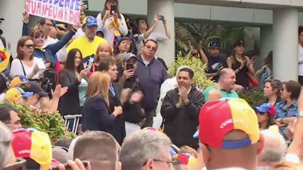 [TLMD - MIA] Protesta de venezolanos en Miami