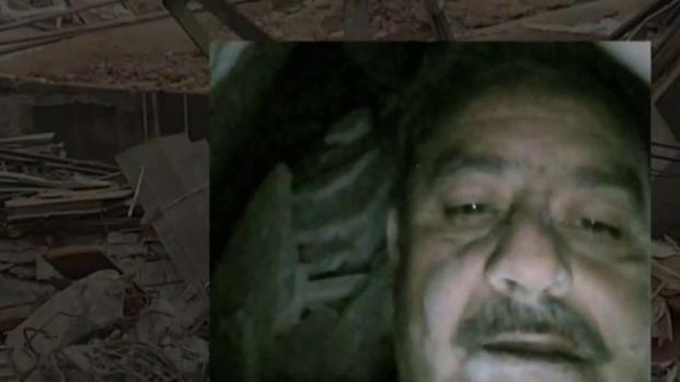 """[TLMD - MIA] Se toma """"selfie"""" mientras estaba atrapado bajo los escombros"""