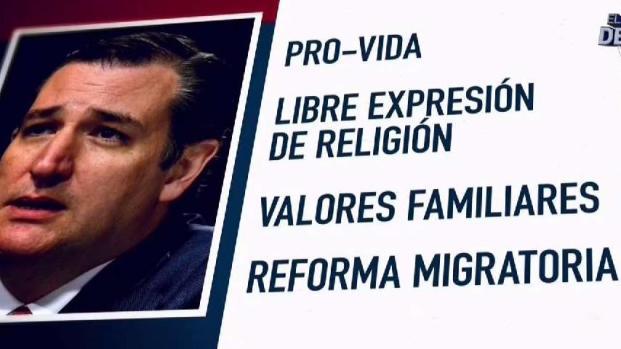 [TLMD - NACIONAL] Ted Cruz busca el apoyo de evangélicos