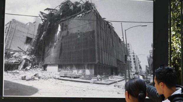 Imágenes y testimonios: A 34 años del terremoto de 1985 en México