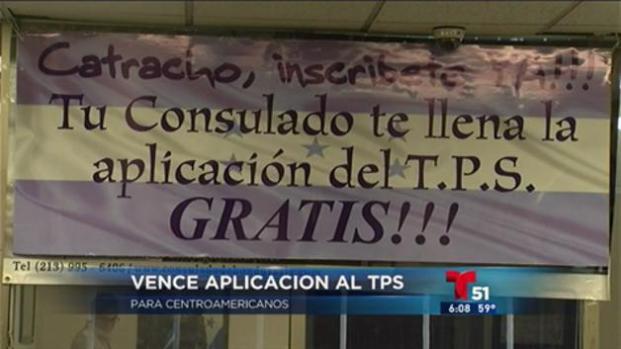 Extensión TPS nicaragüenses y hondureños