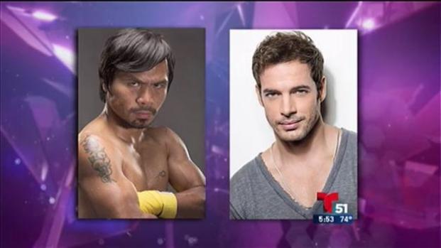 Pacquiao y Levy entre jueces de Miss Universo