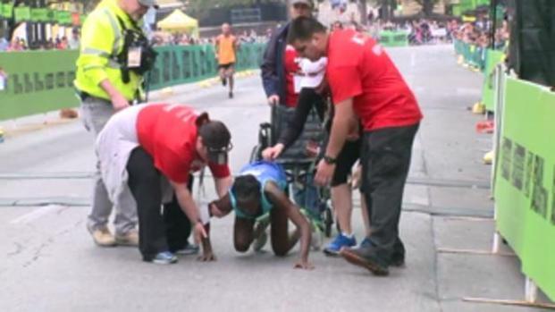 Gateando atleta gana bronce en Maratón de Austin