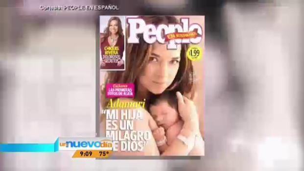 Adamari López muestra por primera vez a su hija Alaia