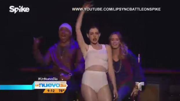 "Video: Actriz parodia ""wrecking ball"" de Miley Cyrus"