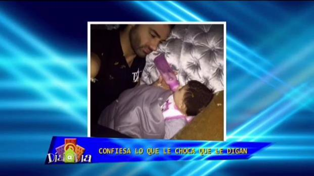 """Cumplo con mi compromiso como papá"""